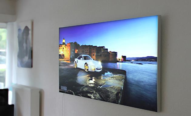 leuchtbilder led ihr motiv als leuchtbild wirkungsvoll hinterleuchtet mit led technik imagelight. Black Bedroom Furniture Sets. Home Design Ideas